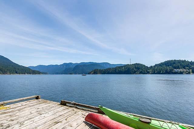 北温一线海景别墅带私家船坞