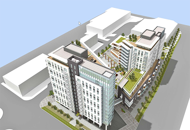 西温Park Royal商场将建新的高层公寓