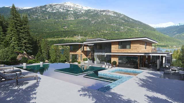 温哥华优房产-惠斯勒世界级山顶豪宅