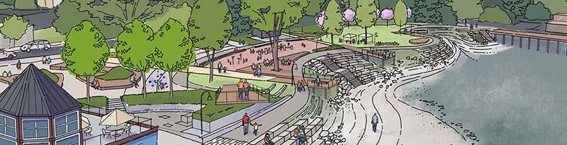 西温马蹄湾公园新设计