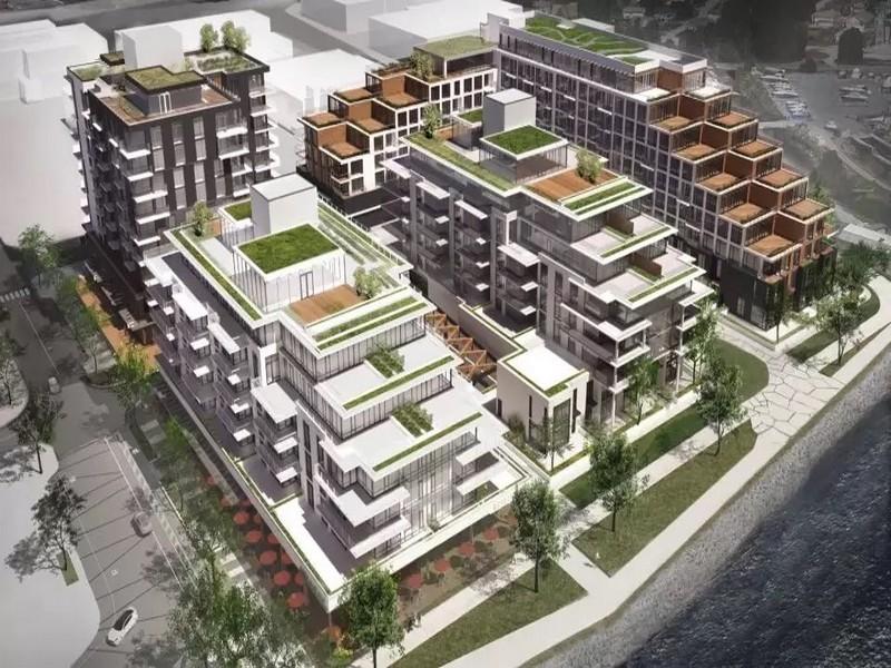 Concert地产开发商在北温开发17栋公寓楼