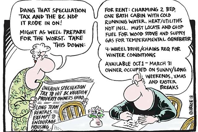 NDP的房产新税坑了本省居民并恶化了房屋可负担性