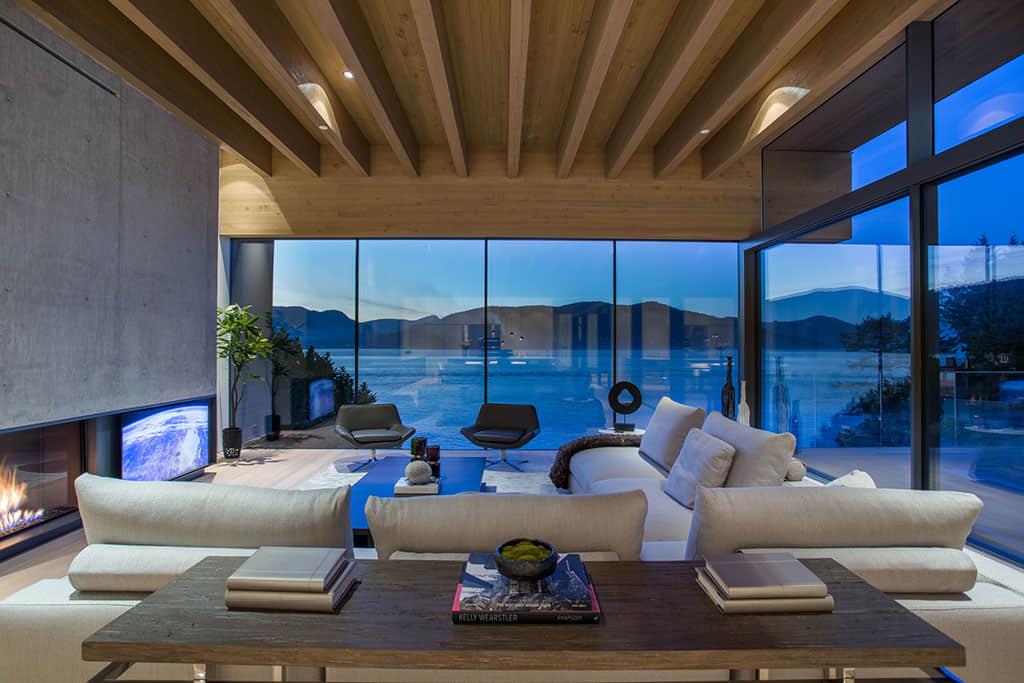 西温一线海景别墅名师设计